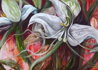 karin terblanche painting of white flowers